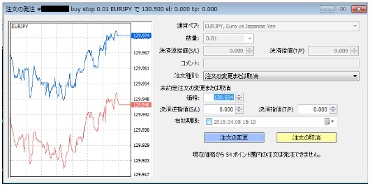 MT4_指値注文または逆指値注文の修正03
